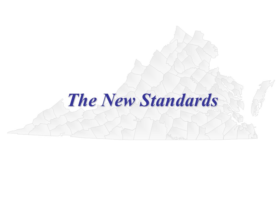 The New Standards The New Standards