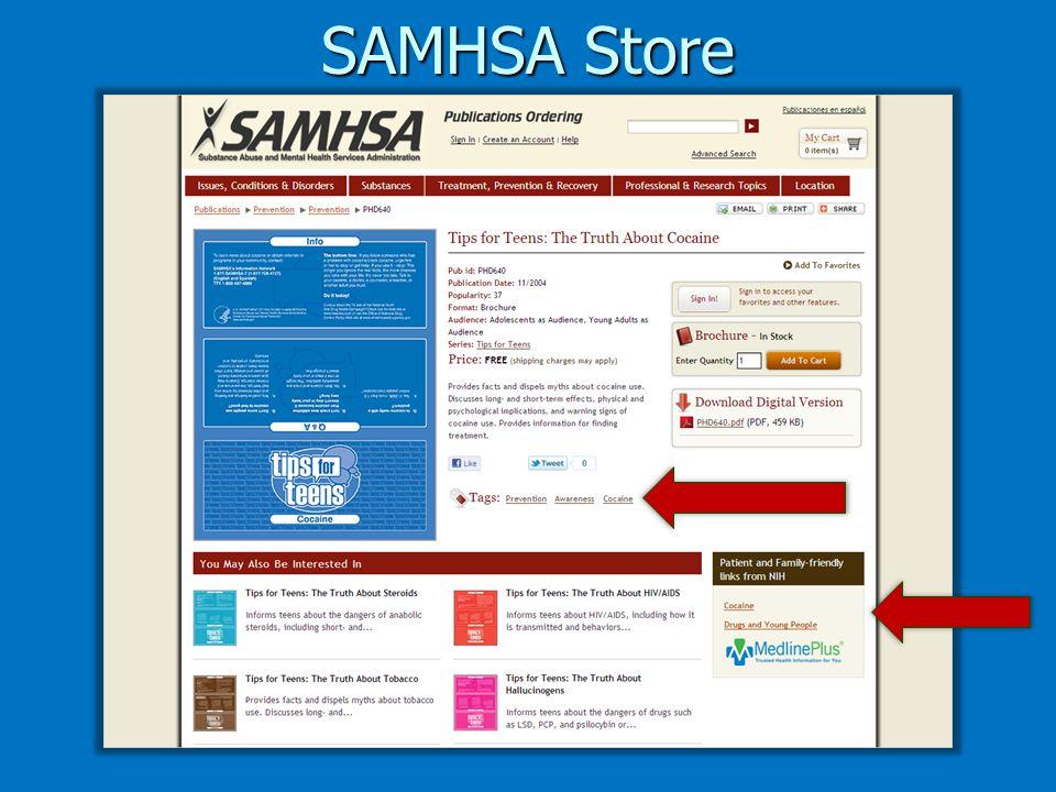 SAMHSA Store