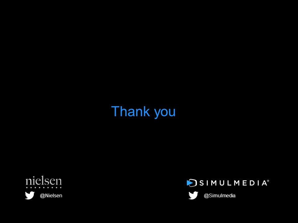 Thank you @Nielsen@Simulmedia
