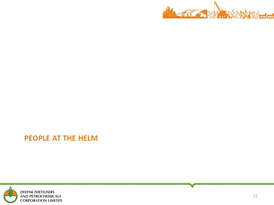 PEOPLE AT THE HELM 25
