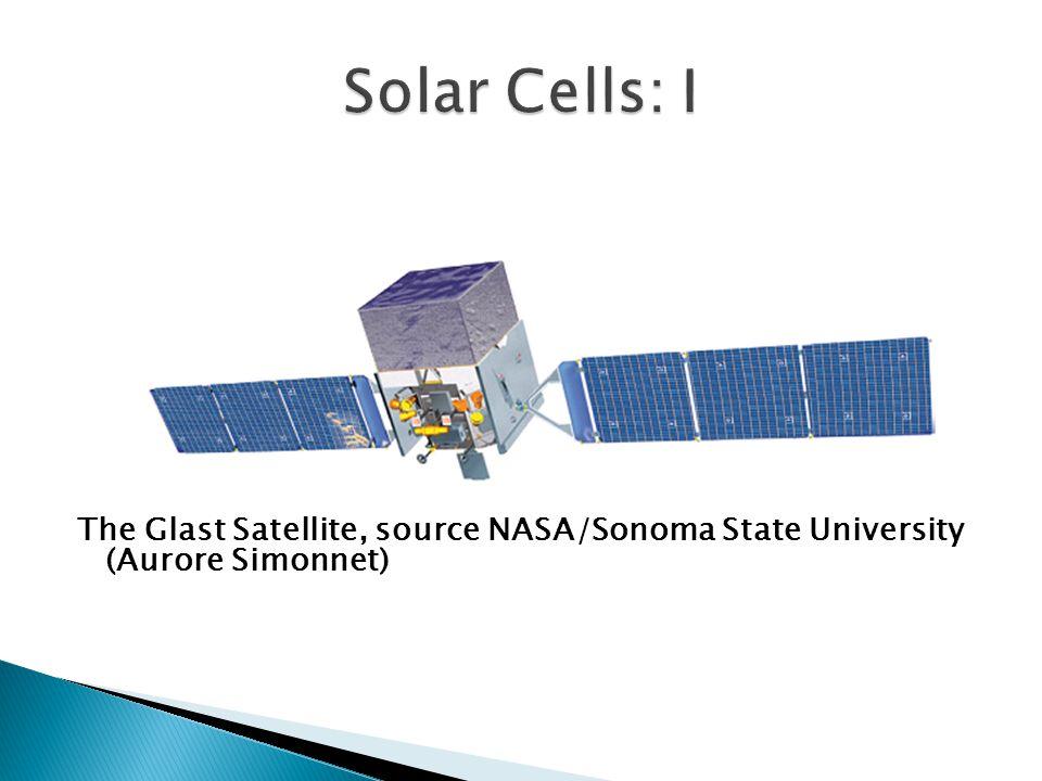 The Glast Satellite, source NASA/Sonoma State University (Aurore Simonnet)