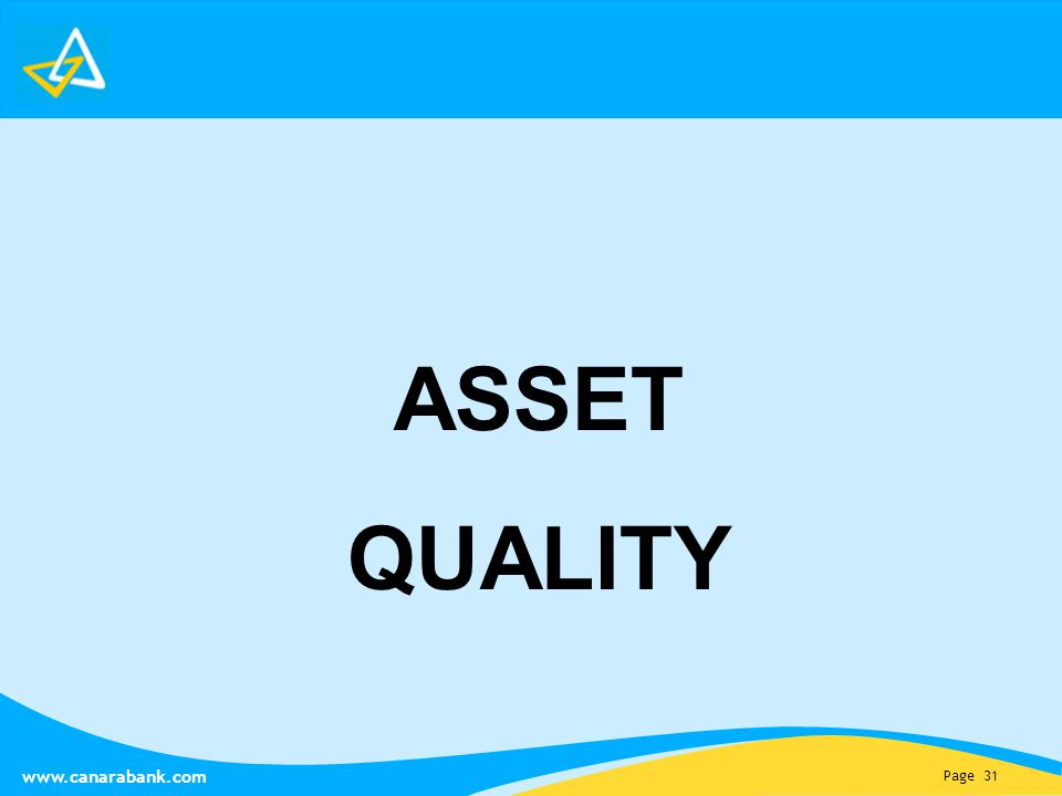 Page 31   ASSET QUALITY