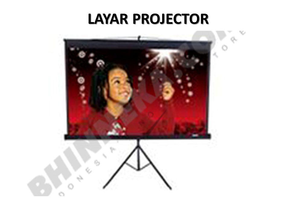 LAYAR PROJECTOR
