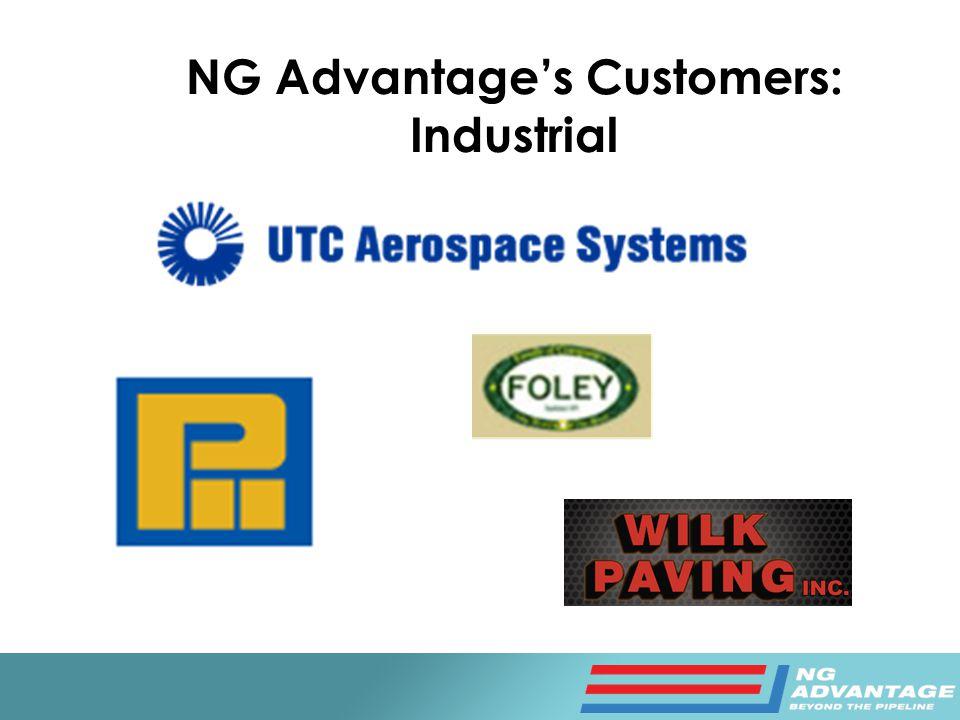 NG Advantage's Customers: Industrial
