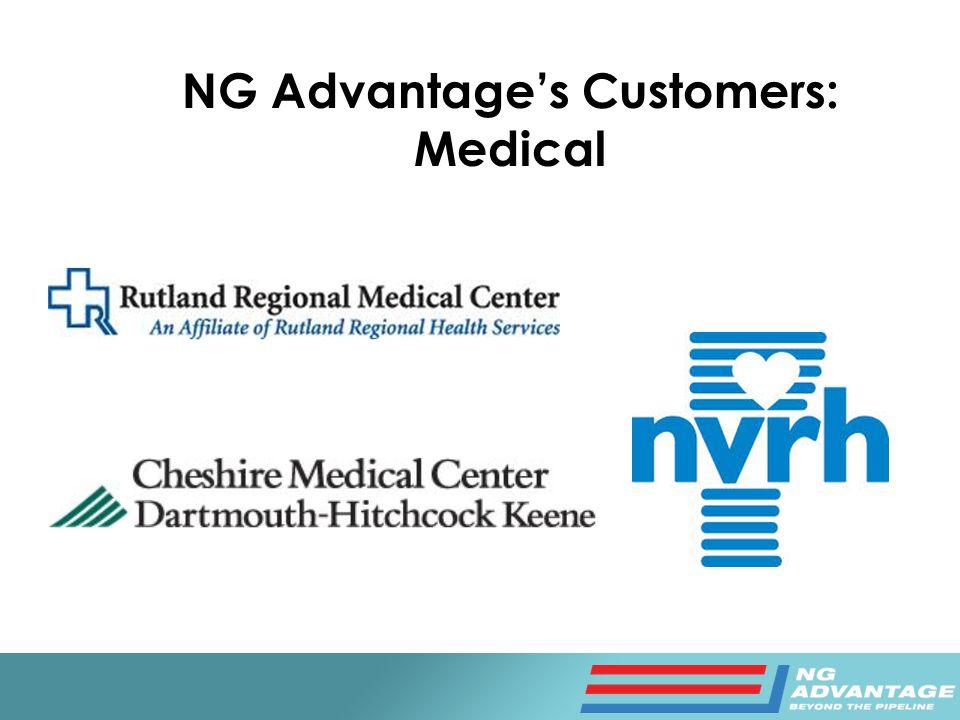 NG Advantage's Customers: Medical