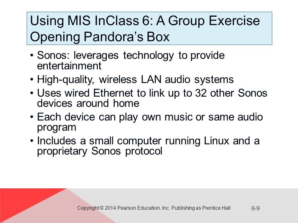 6-20 WAN Using VPN Copyright © 2014 Pearson Education, Inc. Publishing as Prentice Hall