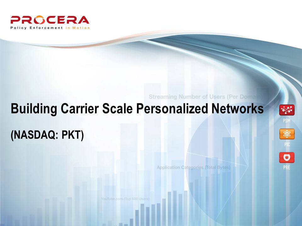 Building Carrier Scale Personalized Networks (NASDAQ: PKT)
