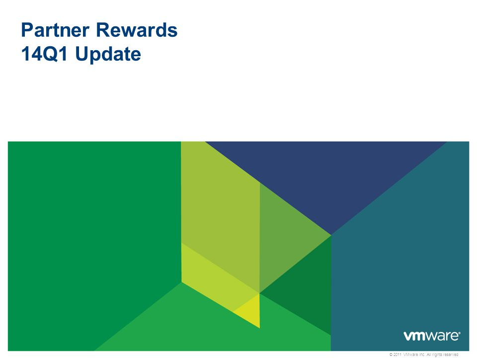 2 Solution Rewards vSphere with Operations Management and vSphere Data Protection More ways to earn accelerated margins Infrastructure Virtualization Competency Partners can earn 5%.