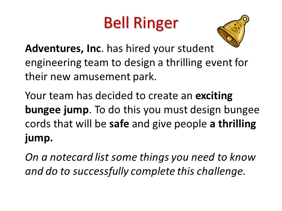 Bell Ringer Adventures, Inc.