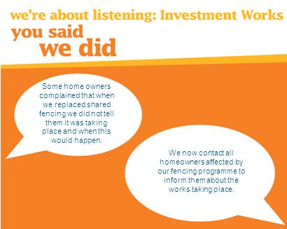 Customers were telling us through satisfaction surveys that they wanted to swap homes with other social housing tenants.