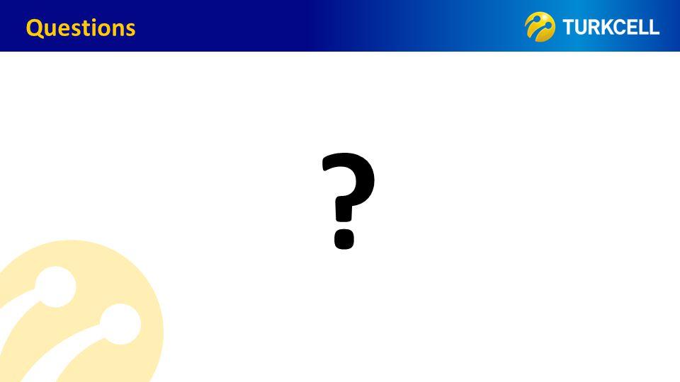 TURKCELL DAHİLİ Questions