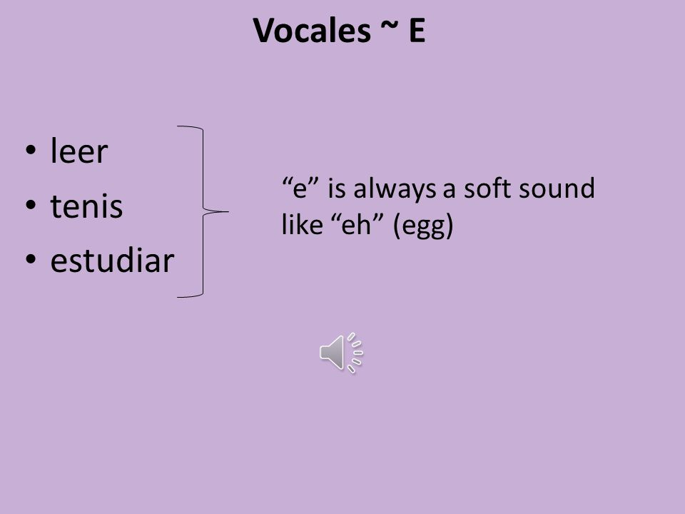 Vocales ~ A adicional americana actividad a is always a soft sound like ah (father)