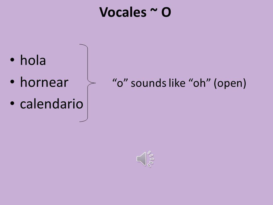 Vocales ~ I inglés información inteligente i is always a hard sound like ee (tree)