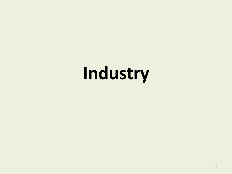 Industry 26