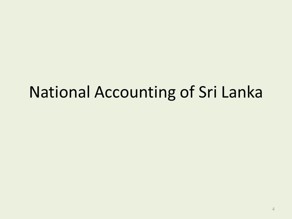 National Accounting of Sri Lanka 4