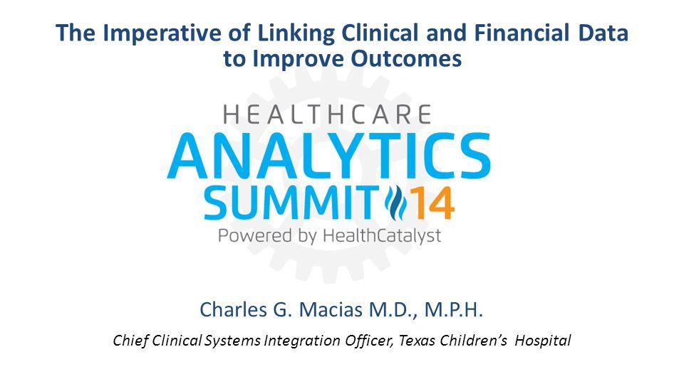 Charles G. Macias M.D., M.P.H.