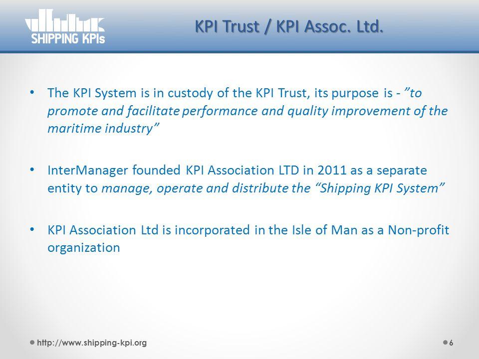 Organization KPI Trust Trustees Intermanager Other Trade Ass.