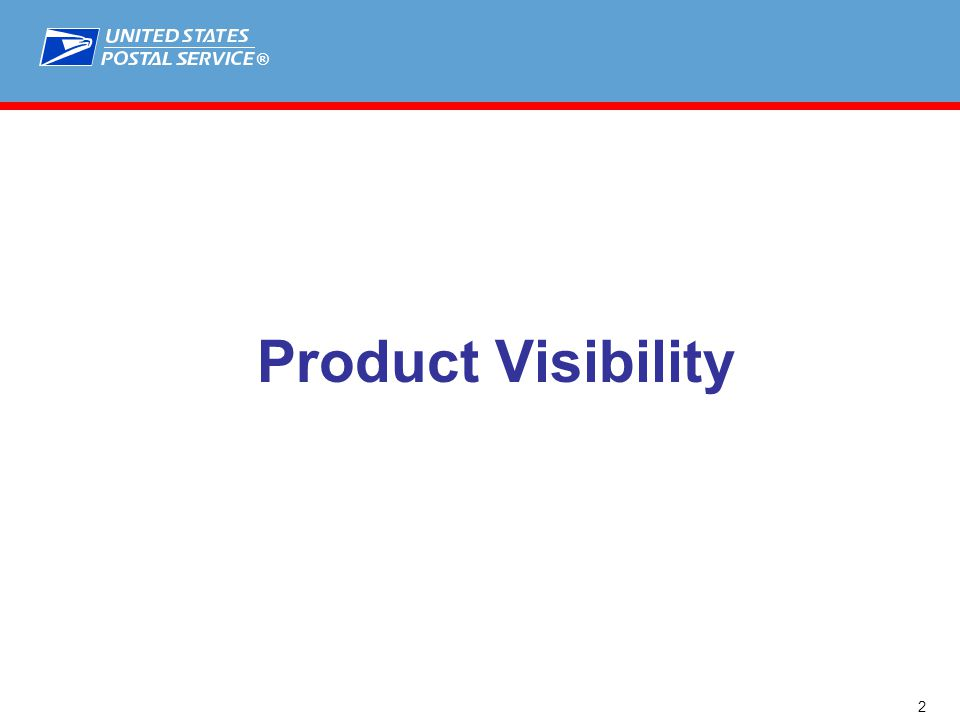 ® Product Visibility 2