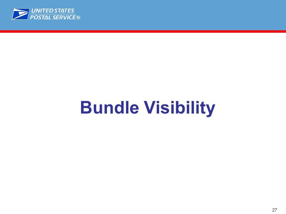 ® Bundle Visibility 27