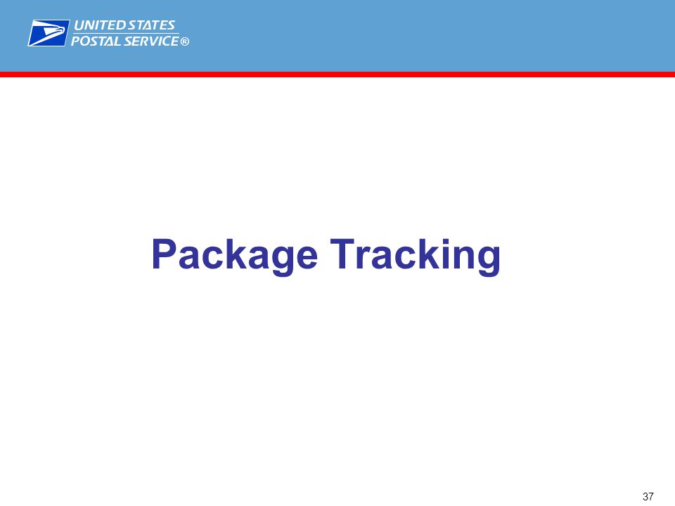 ® Package Tracking 37