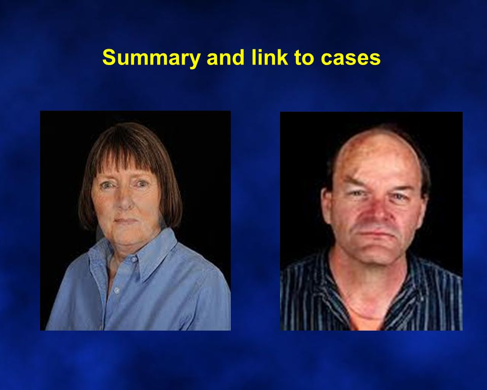 Summary and link to cases