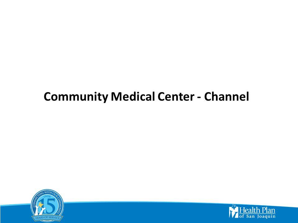 CMC-HPSJ Emergency Room Costs