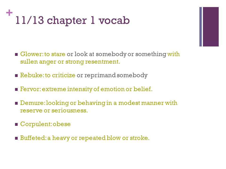 + 11/13 chapter 1 vocab Static: not moving or changing, or fixed in position.