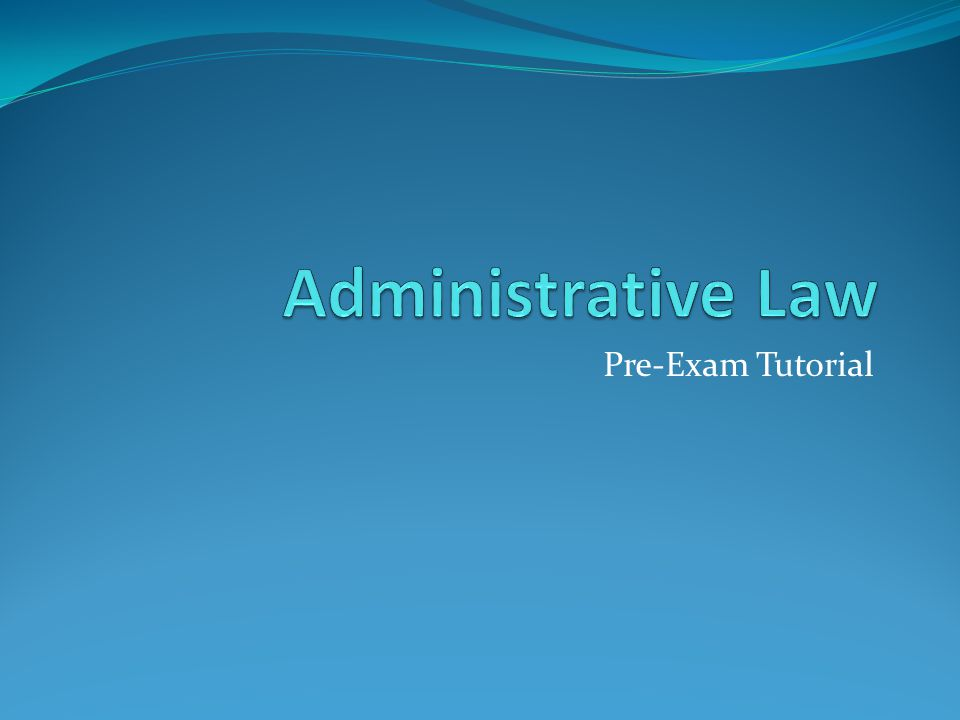 Overview: General Advice: Approaching study: Summaries Approaching exam: time allocation, which question first, etc.
