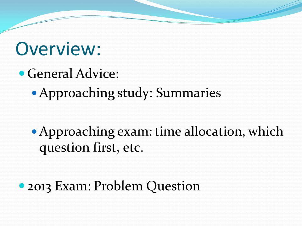 Problem Q Summary Structure 1.Jurisdiction 2. Judiciability 3.