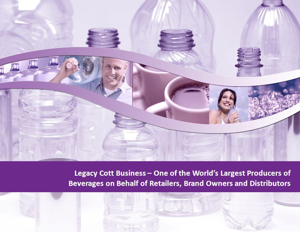 Source: Beverage Marketing, Packaged Facts, Zenith International, Management estimates, Ernst & Young.