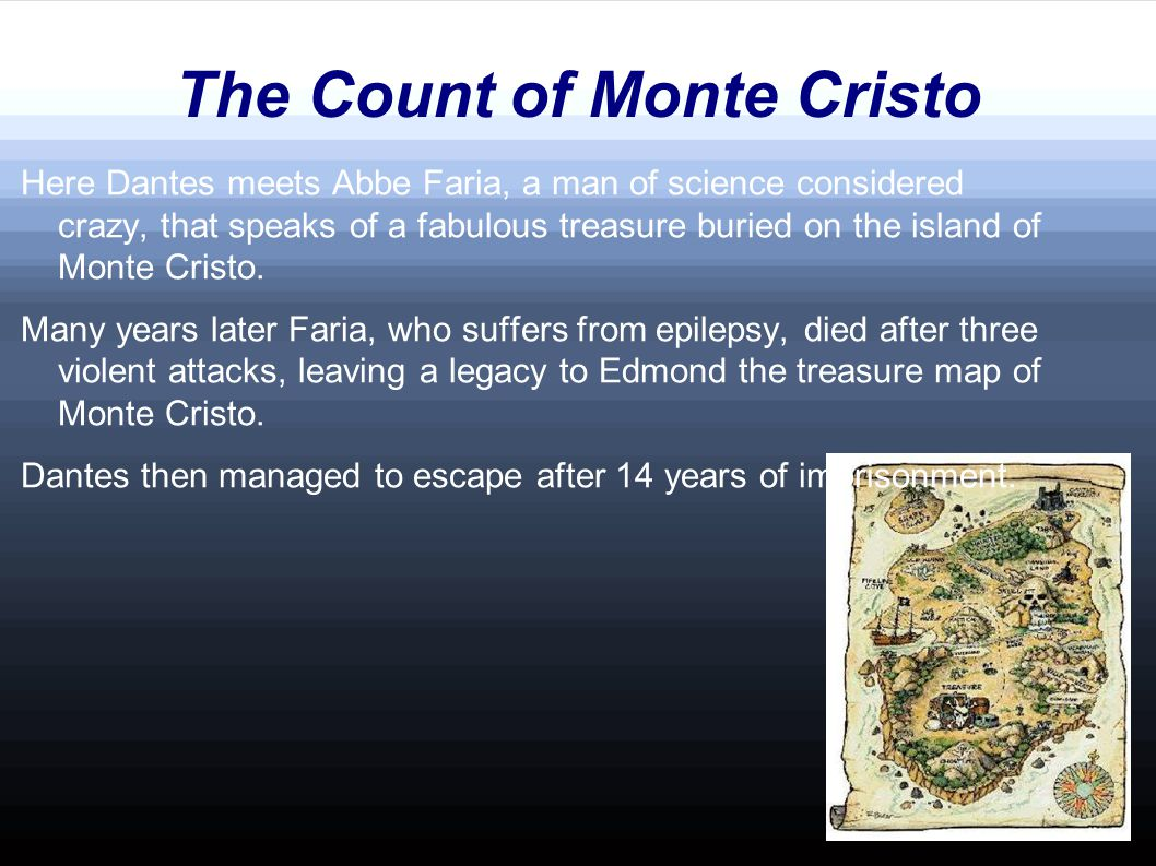 The Count of Monte Cristo Edmon is a fugitive and he don t have a boat.