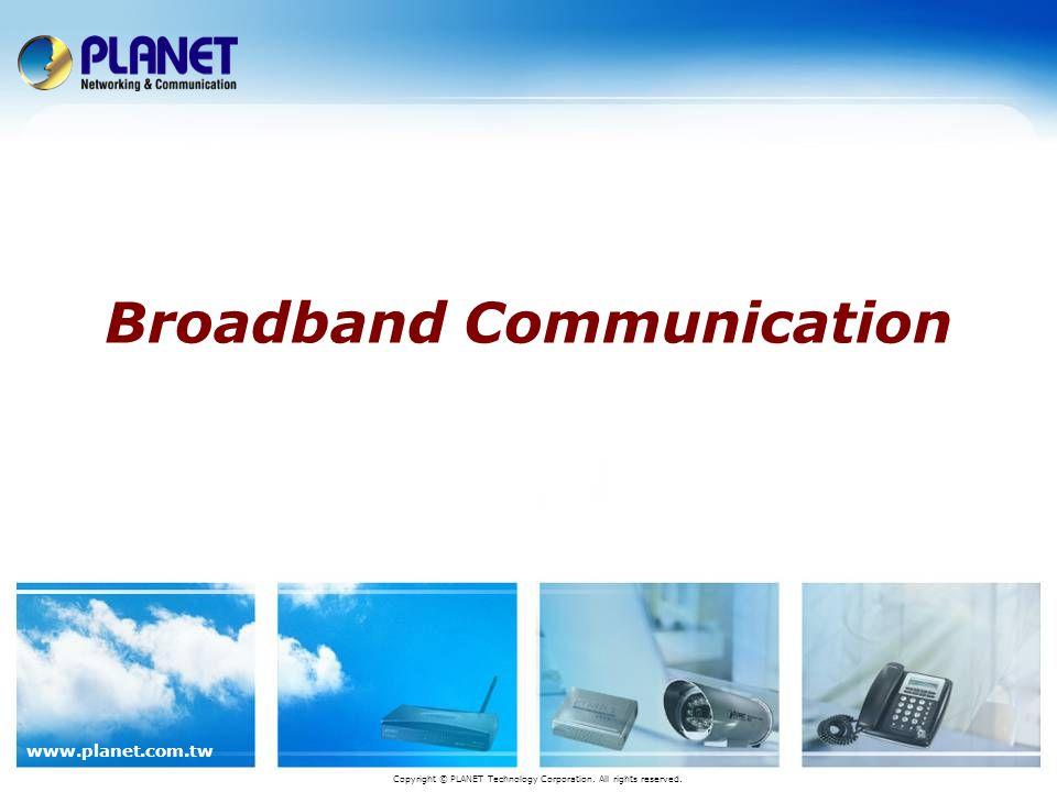 42 / 53 www.planet.com.tw Comparison ADE-4400 Brand Features PLANET ADE-4400 Netgear DG834 ZyXEL Prestige 660H Hardware Ethernet portRJ-45 x4, 10/100Mbps ADSL portRJ-11 x1 Reset Button1 on rear panel Software ADSL standardADSL 2/2+ ADSL TypeAnnex A/L/M, BAnnex A, B NAT / NAPTVVV Virtual ServerVVV DMZVVV RIP 1/2VVV DHCP ServerVVV Access ControlV-V IP FilterVVV FirewallVVV UPnPVVV VPNPass through Dynamic DNSVVV SNMPV, v2-V, v1