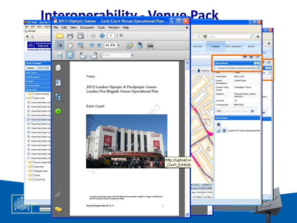 TOTAL POLICING Interoperability - Venue Pack