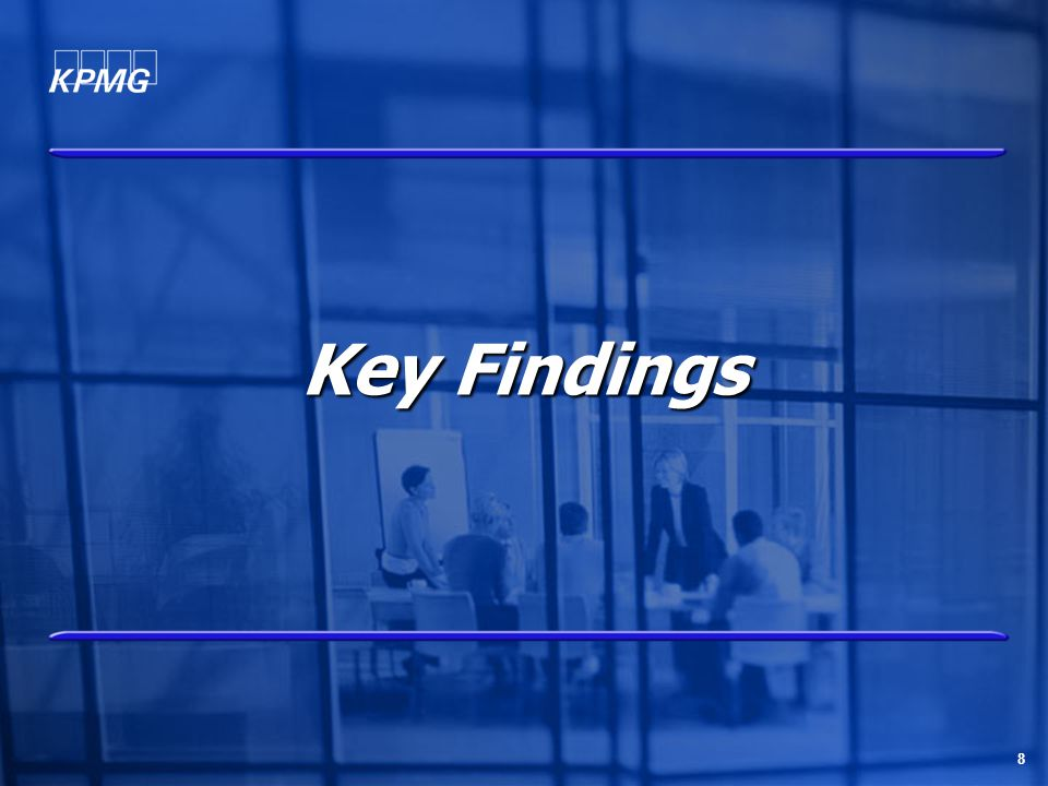 8 Key Findings