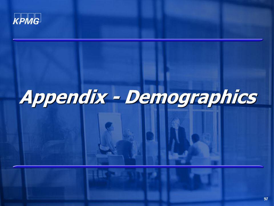 97 Appendix - Demographics