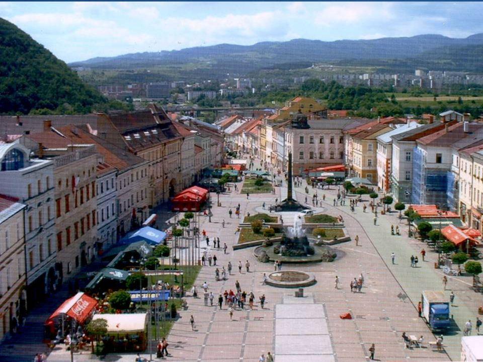 Let´s have a look at the other (small, but nice) Slovak cities Košice (250 000) Saint Elisabeth Cathedral Prešov (92 000) Nitra (87 000) Žilina (86 000) Banská Bystrica (84 000)