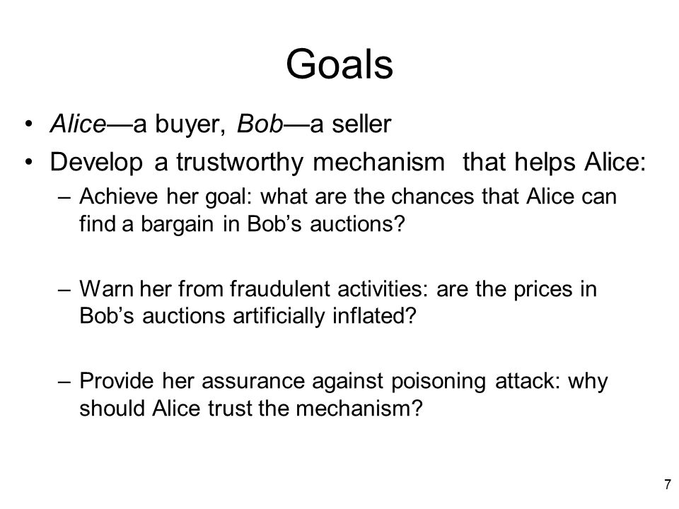 8 Contributions A reputation system that helps buyers avoid sellers who seem to be inflating prices –Formulated the seem to be inflating prices as an anomaly detection problem –Business level anomaly detection: the basic events are auctions, bidding.