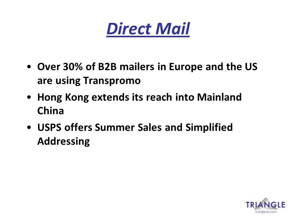 Digital developments (1) Digital platforms Secure Pay (Australia) Comparison Shopper Retail Website (Canada) nugg.ad (Germany) Local Information Services (New Zealand) E-commerce fulfilment (Royal Mail)