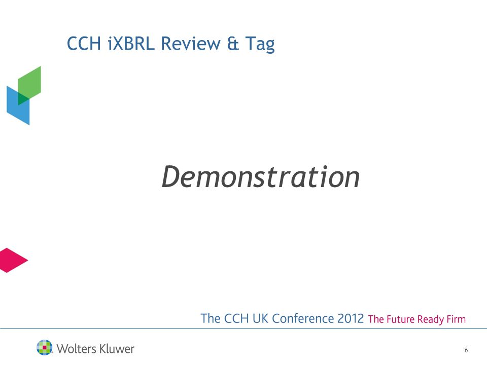 CCH iXBRL Review & Tag Demonstration 6