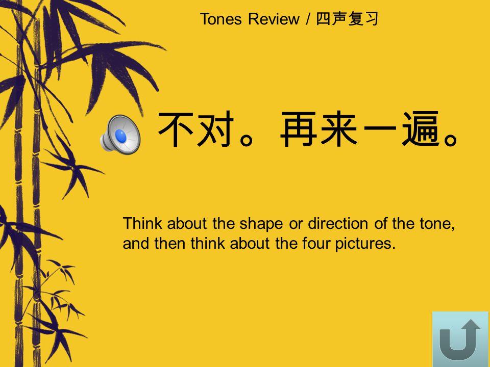 Tones Review / 四声复习 3 13 1 3 43 4 2 12 1 2 42 4