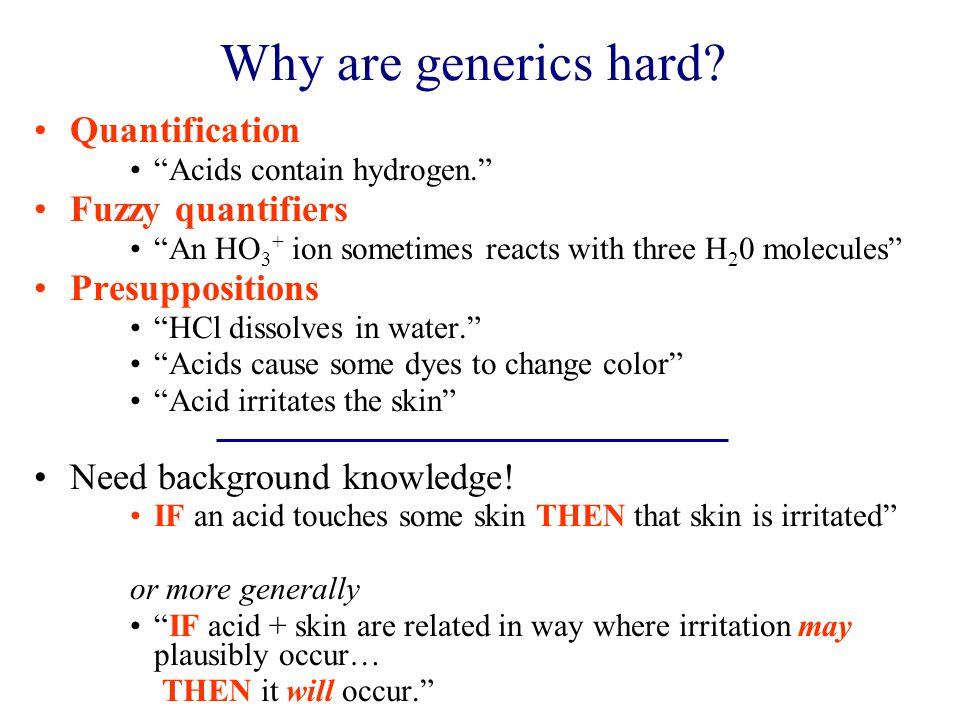 Why are generics hard.