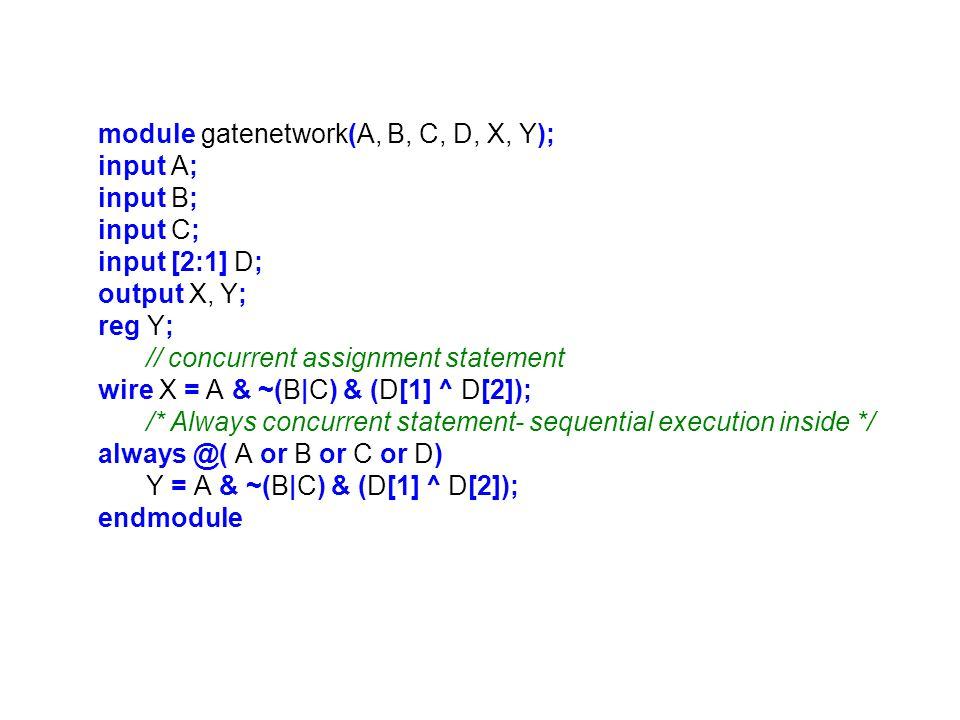 module DEC_7SEG(Hex_digit, segment_a, segment_b, segment_c, segment_d, segment_e, segment_f, segment_g); input [3:0] Hex_digit; output segment_a, segment_b, segment_c, segment_d; output segment_e, segment_f, segment_g; reg [6:0] segment_data; always @(Hex_digit) /* Case statement implements a logic truth table using gates*/ case (Hex_digit) 4'b 0000: segment_data = 7 b 1111110; 4'b 0001: segment_data = 7 b 0110000; 4'b 0010: segment_data = 7 b 1101101; 4'b 0011: segment_data = 7 b 1111001; 4'b 0100: segment_data = 7 b 0110011; 4'b 0101: segment_data = 7 b 1011011; 4'b 0110: segment_data = 7 b 1011111; 4'b 0111: segment_data = 7 b 1110000; 4'b 1000: segment_data = 7 b 1111111; 4'b 1001: segment_data = 7 b 1111011; 4'b 1010: segment_data = 7 b 1110111; 4'b 1011: segment_data = 7 b 0011111; 4'b 1100: segment_data = 7 b 1001110; 4'b 1101: segment_data = 7 b 0111101; 4'b 1110: segment_data = 7 b 1001111; 4'b 1111: segment_data = 7 b 1000111; default: segment_data = 7 b 0111110; endcase