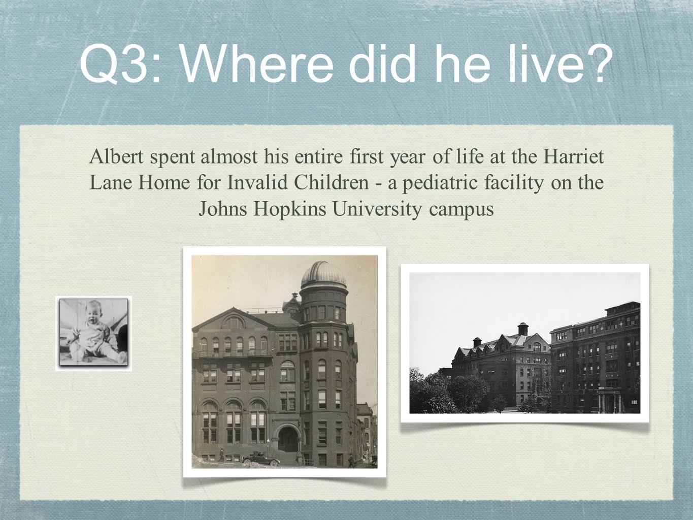 Q7: Whatever Became of Douglas.
