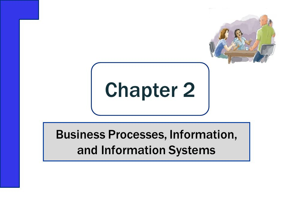 Business Processes, Information, and Information Systems Chapter 2