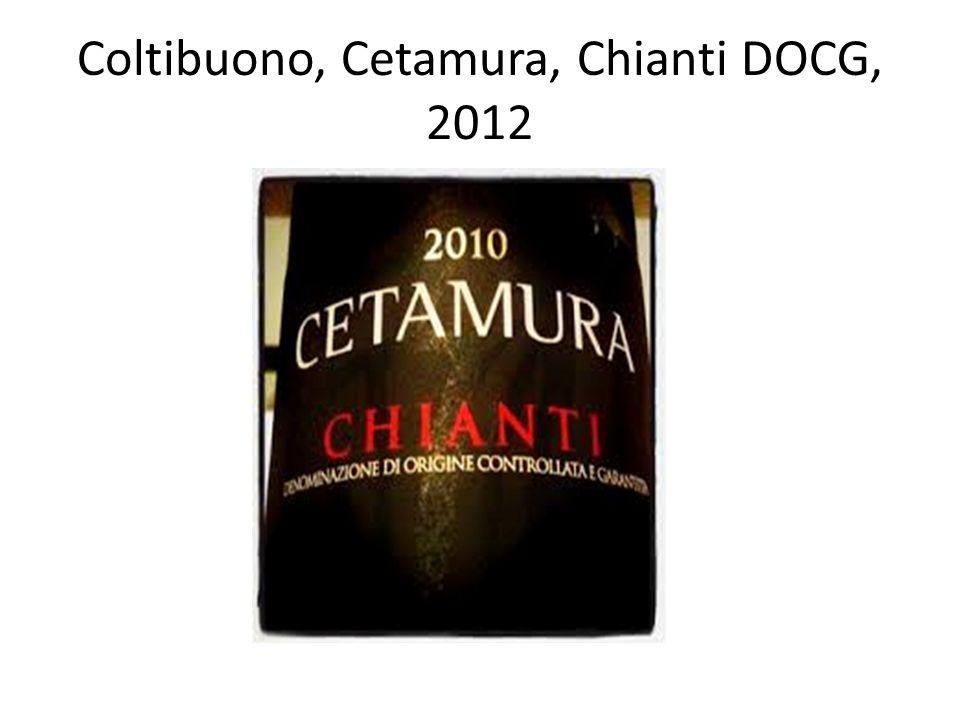 Coltibuono, Cetamura, Chianti DOCG, 2012