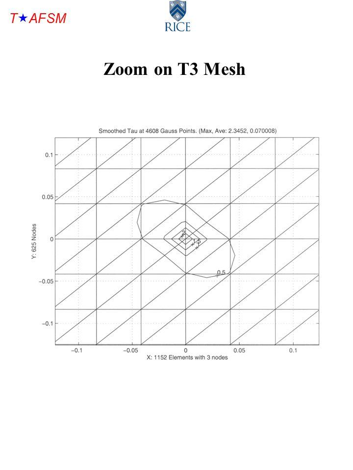 T  AFSM Zoom on T3 Mesh