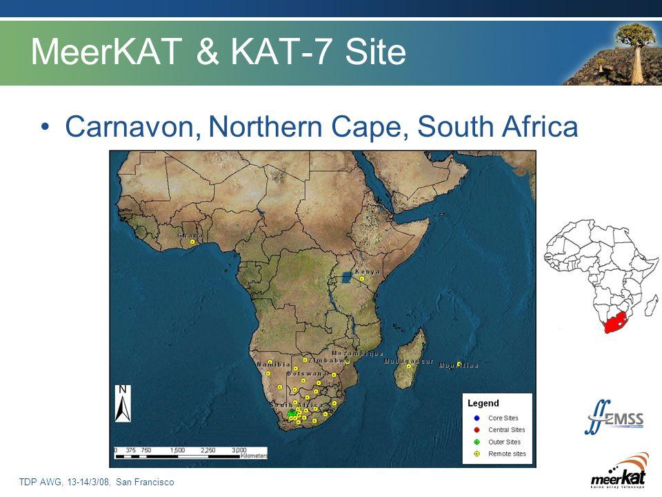 TDP AWG, 13-14/3/08, San Francisco MeerKAT & KAT-7 Site Carnavon, Northern Cape, South Africa