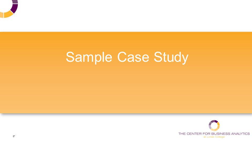 57 Sample Case Study
