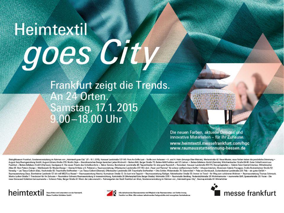 Messe Frankfurt | Heimtextil 201526