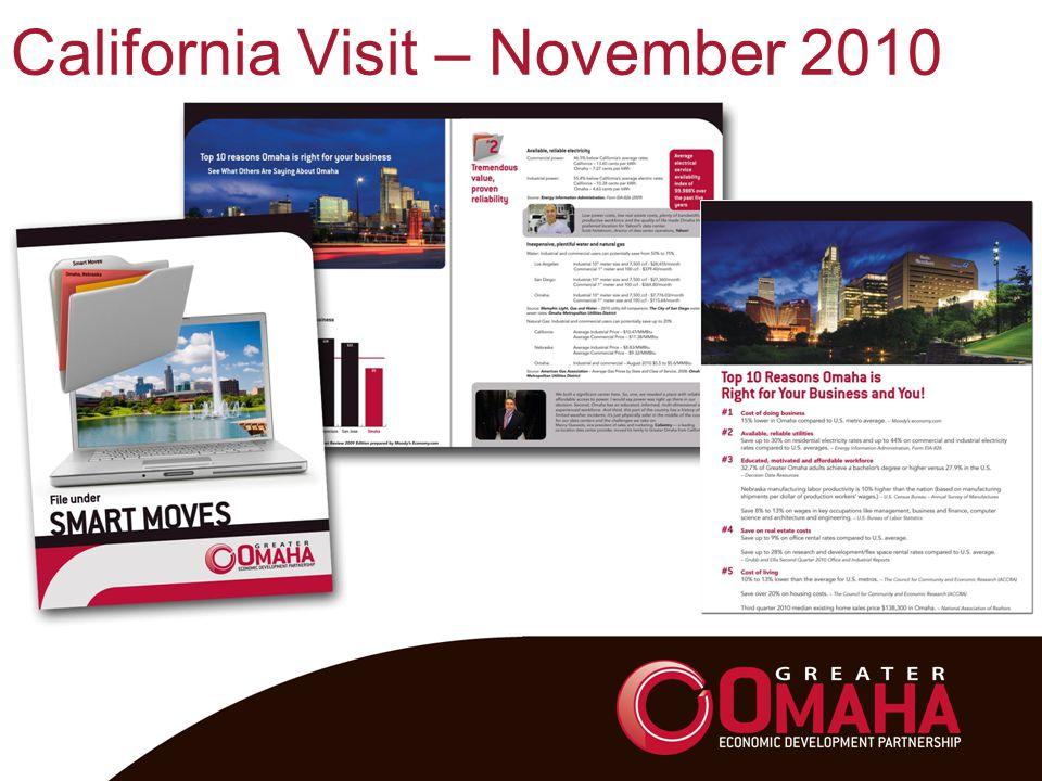 California Visit – November 2010